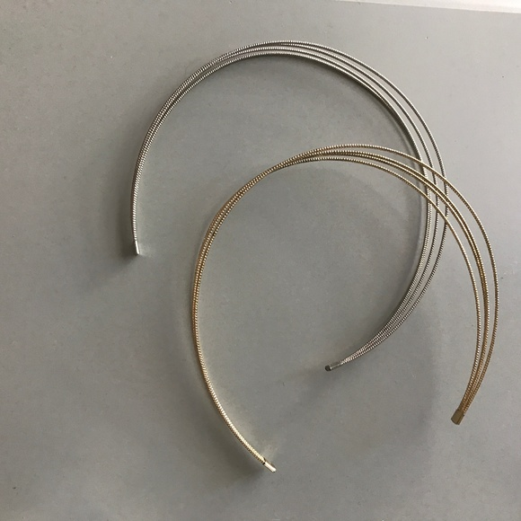 Accessories - Silver and Gold Headbands